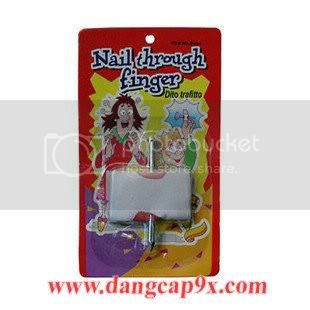 inh ng ngn tay - Nail Through Finger Magic Tricks